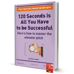 120 seconds is all you have to be successful