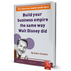 Build your business empire the same way Walt Disney did